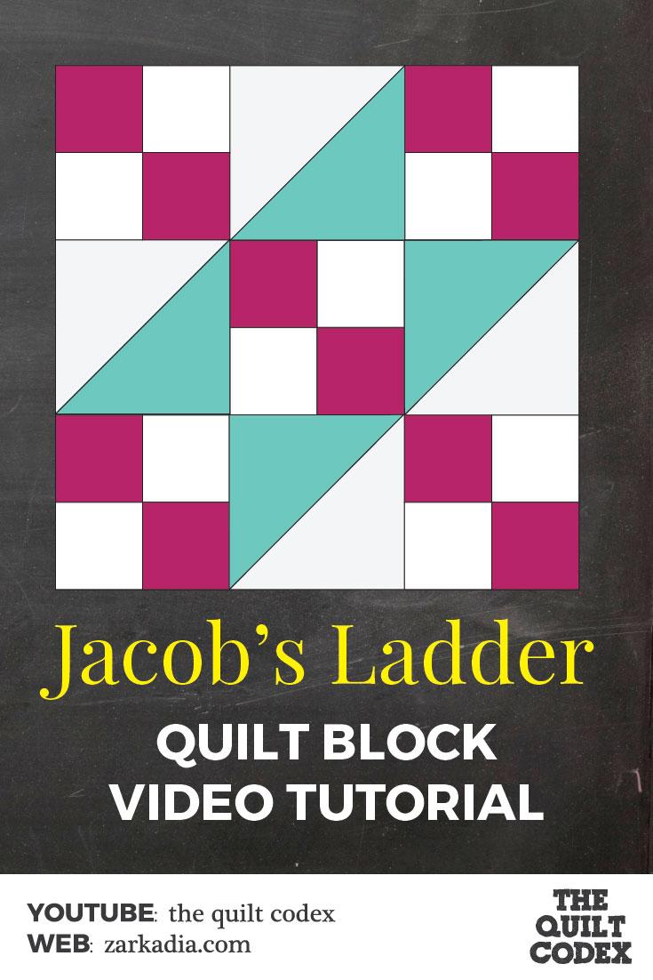 Jacob's Ladder quilt block
