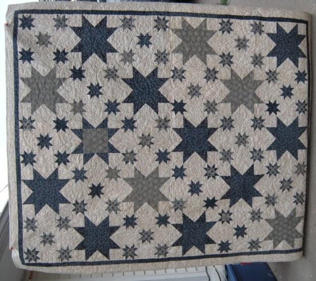 eight point star quilt