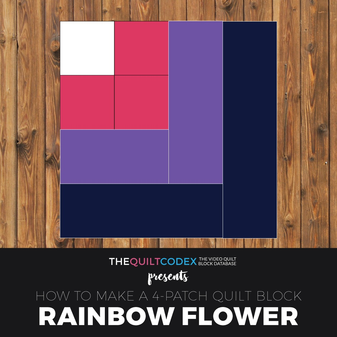 Rainbow-Flower-quilt-block