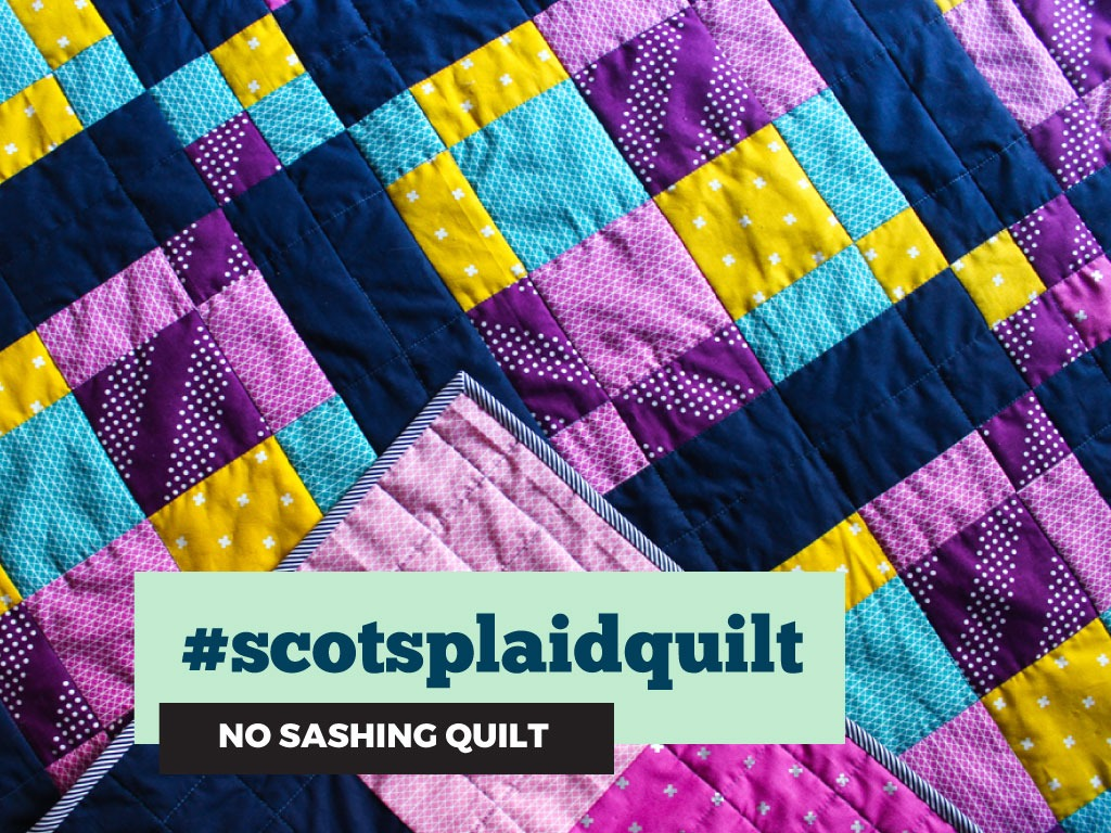 Scot's Plaid baby quilt