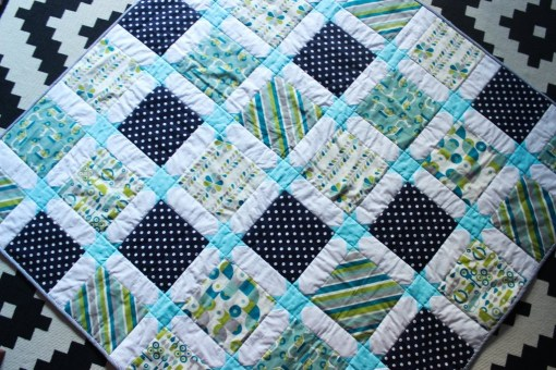 star-sashing-baby-quilt
