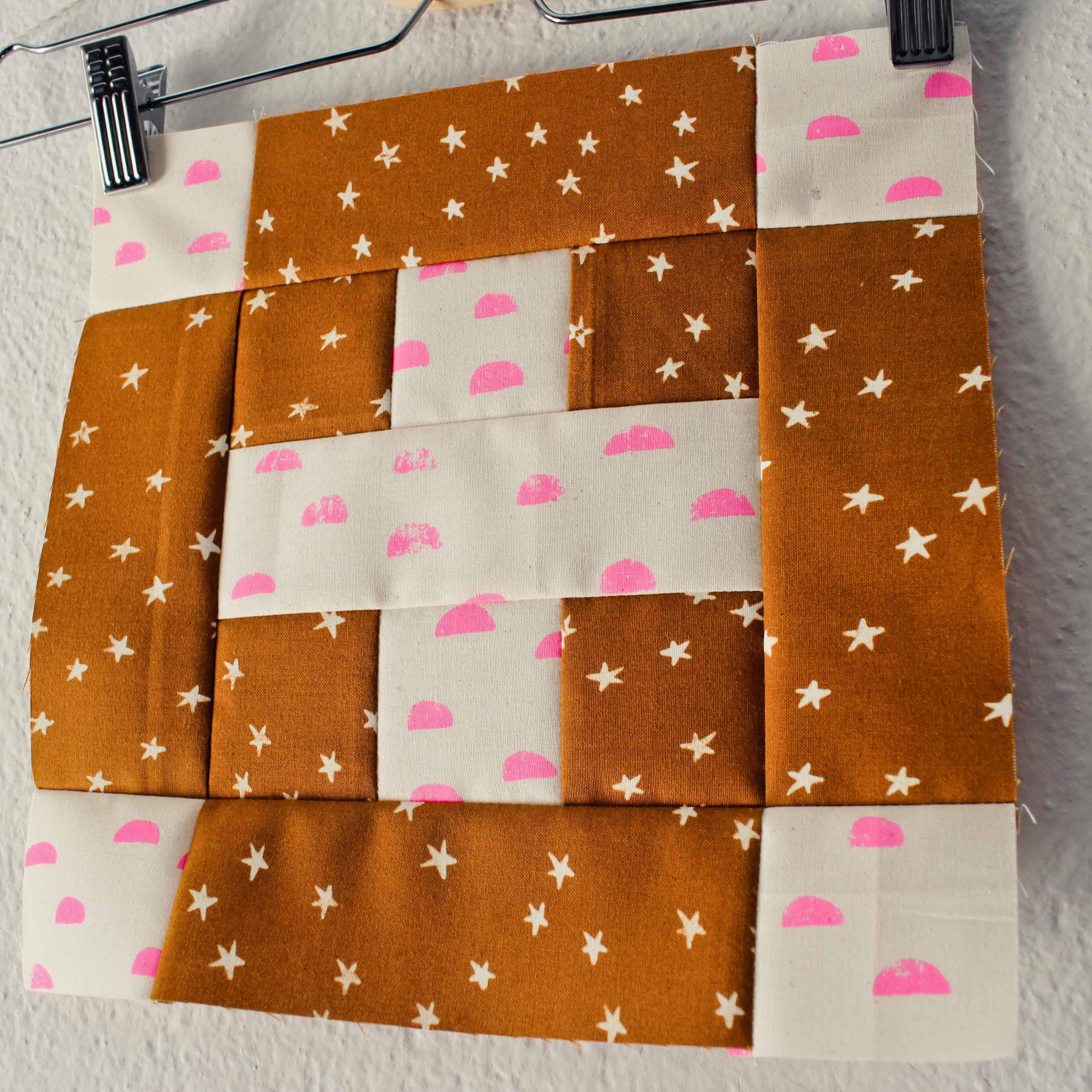 Souvenir of friendship quilt block