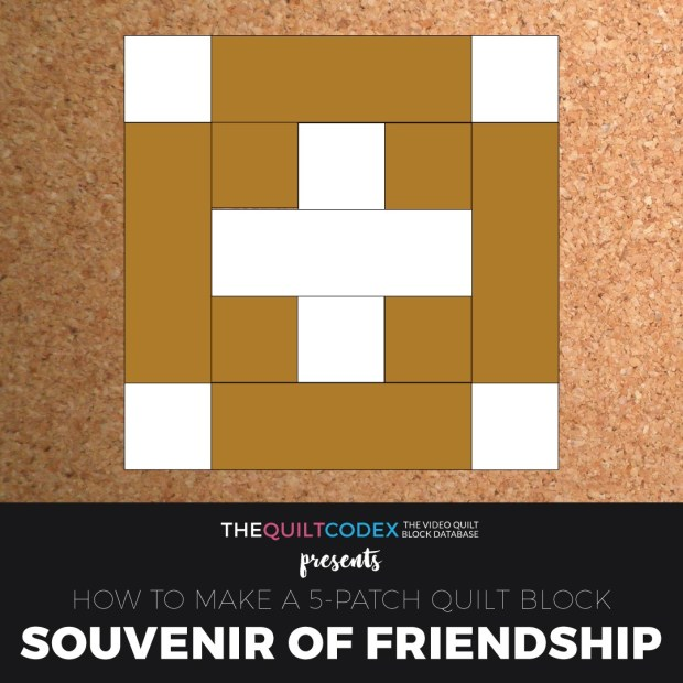 Souvenir-of-Friendship-quilt-block tutorial