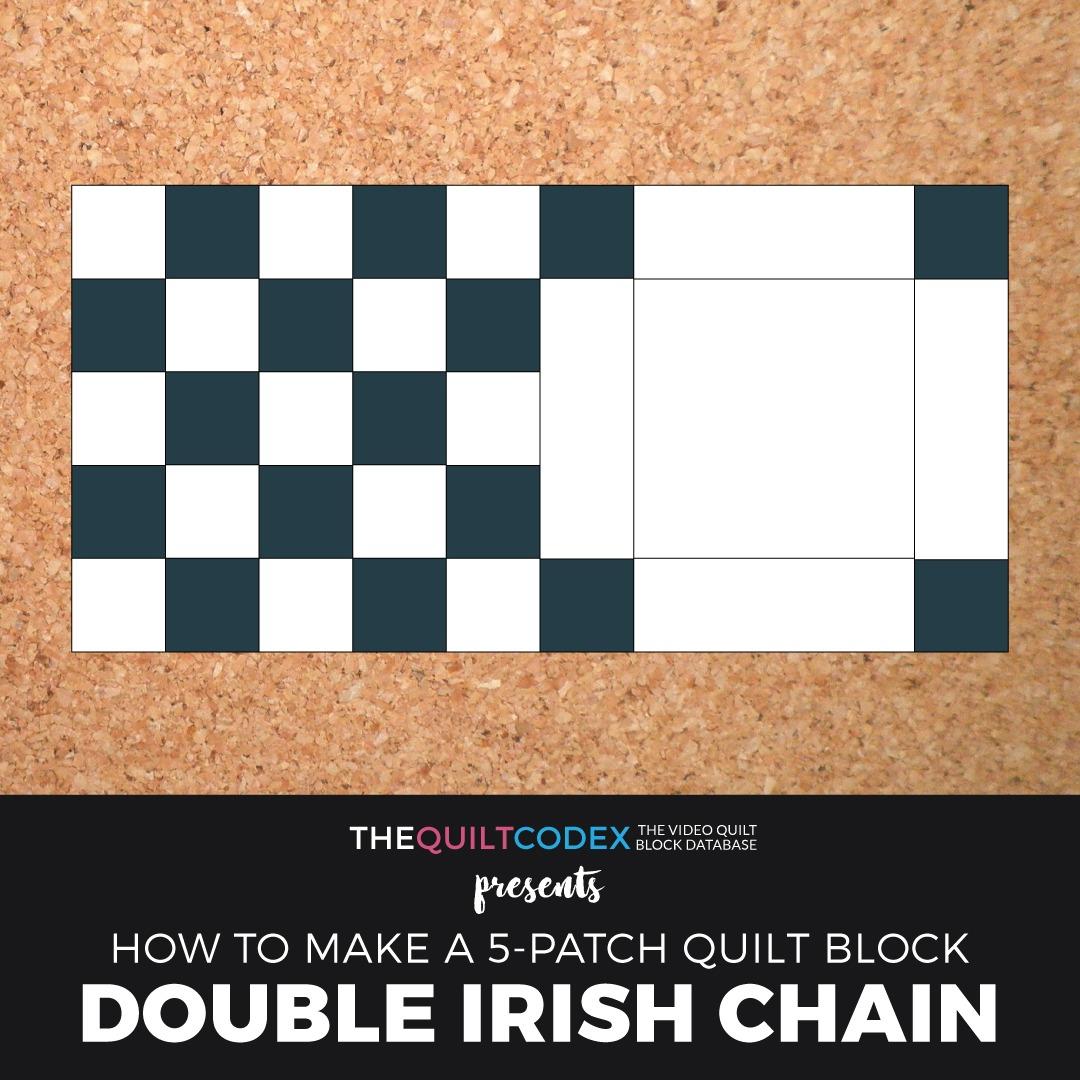 double irish chain quilt block