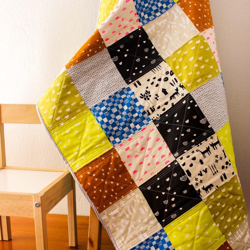 print shop fabric quilt