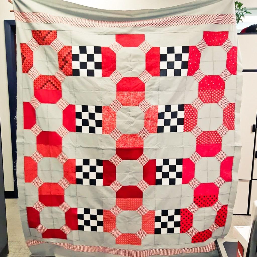 Lifesaver quilt test