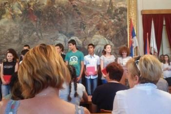 Додела награде ученицима генерације