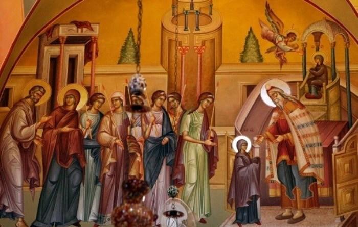 4 грудня велике православне свято – Введення в храм Пресвятої Богородиці