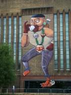 Nunca, muro da Tate, Londres