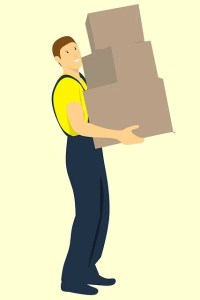 Workman Delivers Three Boxes  - mohamed_hassan / Pixabay