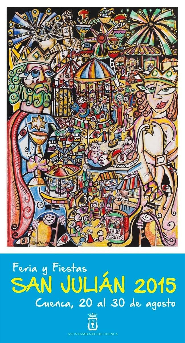 Cartel de las fiestas de San Julián 2015