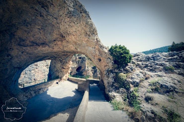 Ventano del Diablo, en Villalba de la Sierra
