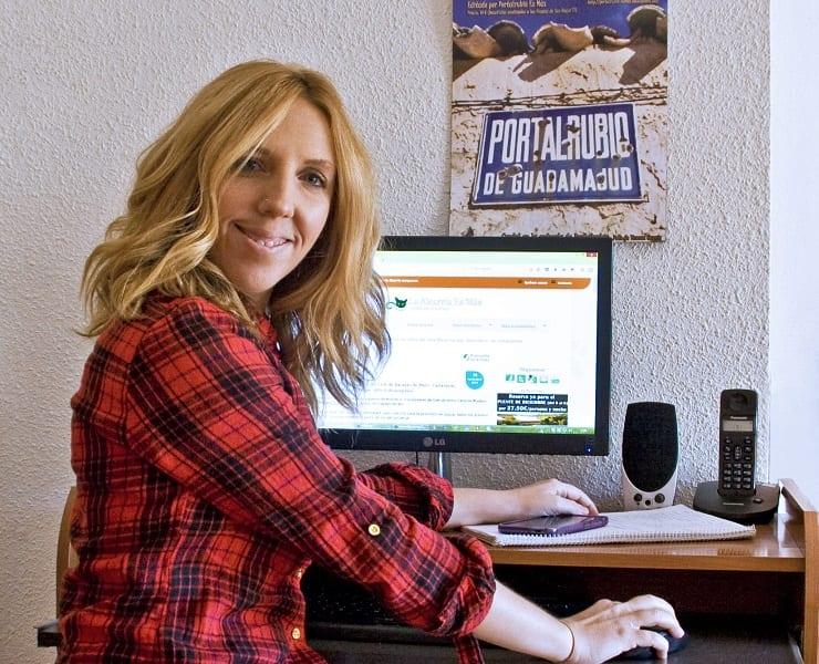 Mónica Raspal, creadora de La Alcarria es Más