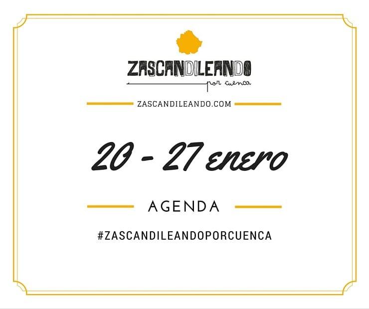 Agenda del 20 al 27 de enero de 2016 en Cuenca