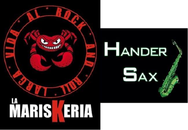 Concierto en Tresjuncos de La Mariskeria y Hander Sax