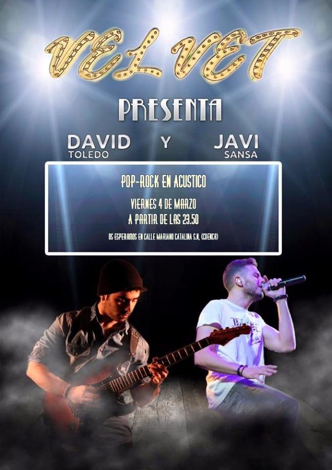 Concierto de David Toledo y Javi Sansa