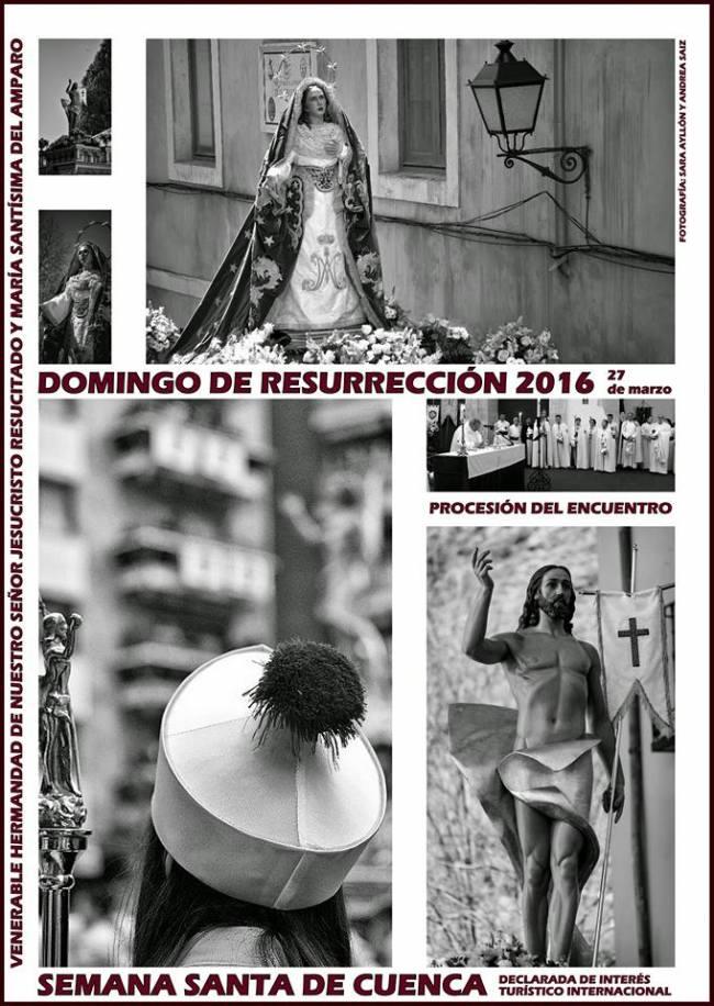 Semana Santa, Domingo de Resurrección en Cuenca 2016