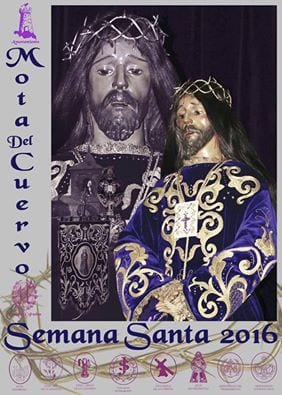 Cartel de la Semana Santa en Mota del Cuervo