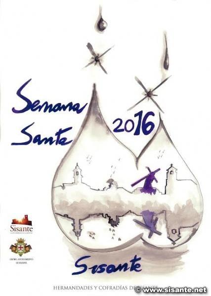 Cartel de la Semana Santa en Sisante