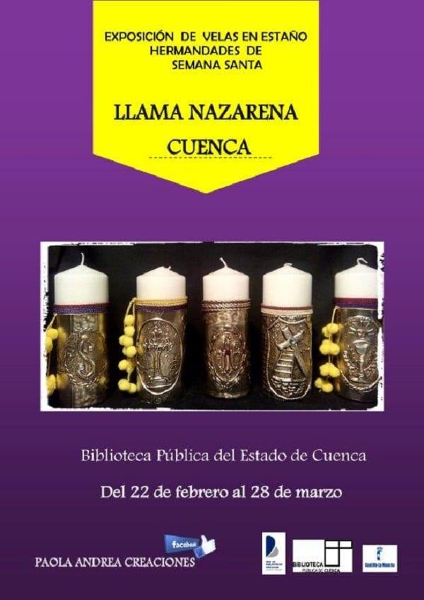 Exposición Llama Nazarena, Biblioteca de Cuenca