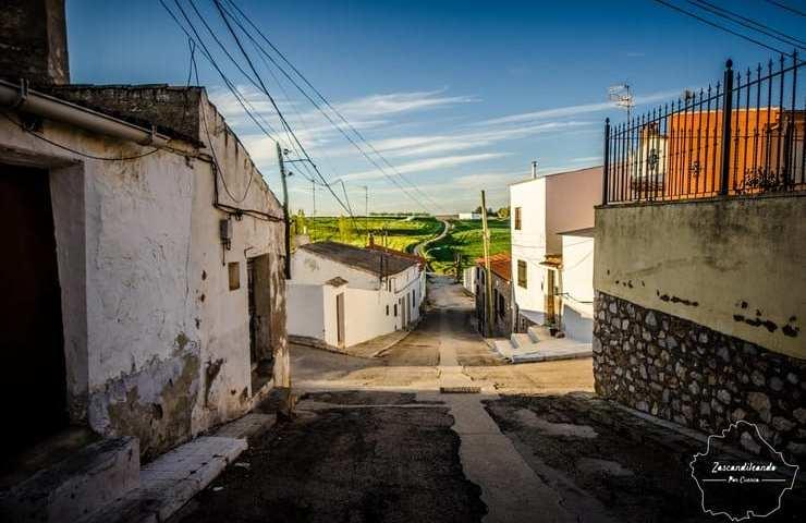Calles del pueblo de Villarejo de Fuentes