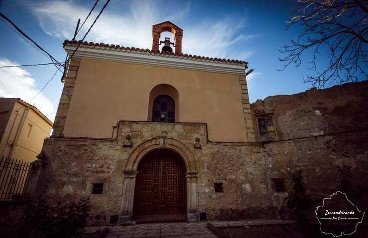 Capilla del Rosario en Villarejo de Fuentes