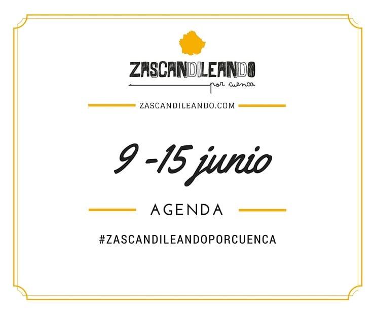 Agenda del 9 al 15 de junio de 2016 en Cuenca