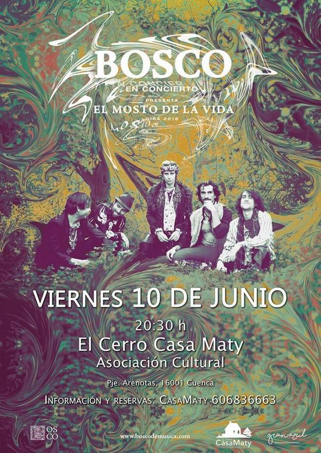 Concierto de Bosco en Casa Maty, Cuenca