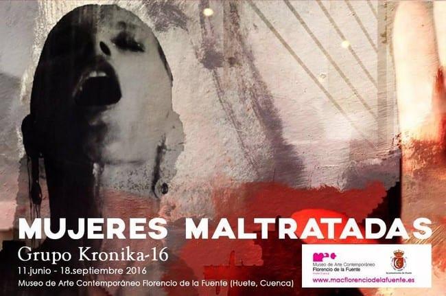 """muestra de Grupo Kronika-16, """"Mujeres Maltratadas"""""""