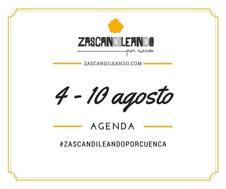 Agenda del 4 al 8 de agosto de 2016 en Cuenca
