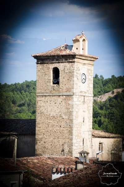 Torre de la iglesia parroquial de San Martín Obispo