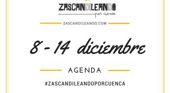 Agenda del 8 al 14 de diciembre de 2016 en Cuenca