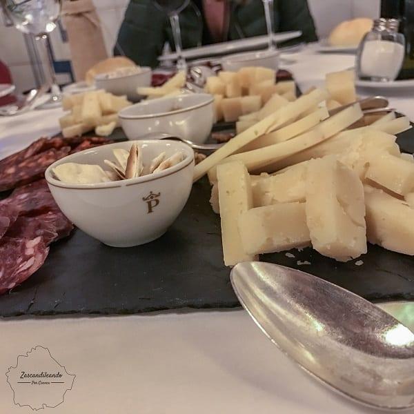Comida en el parador en Cuenca de Cine