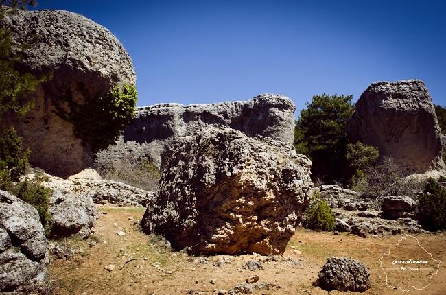 Rocas en los Callejones de las Majadas