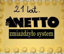 Netto zmiażdżyło system... prawie 4