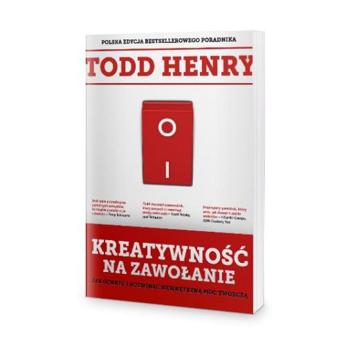 """Jak poradzić sobie z marzeniami? Czy kreatywność na zawołanie istnieje? Recenzja książki Henry'ego Todda """"Kreatywność na zawołanie"""" 1"""