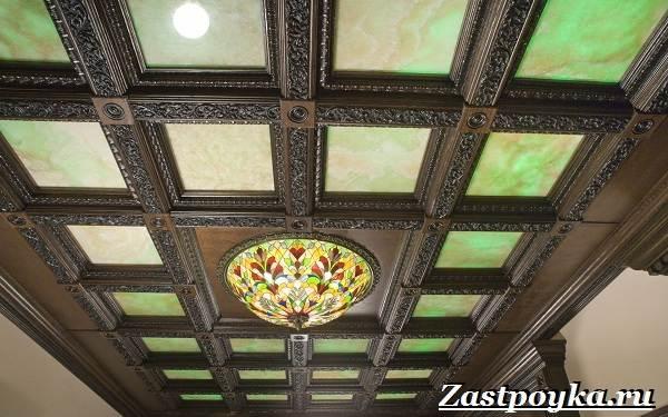 Кессонный-потолок-Описание-особенности-виды-и-монтаж-кессонного-потолка-19