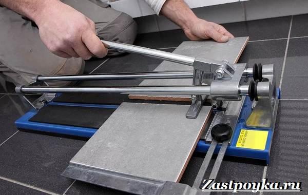 Как выбрать ручной плиткорез - советы плиточников