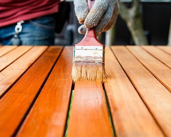 Полиуретановый лак: однокомпонентный и двухкомпонентный состав для паркета, применение лака на водной основе для бетона и паркетного пола
