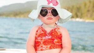 usypianie na wakacjach bobas na plazy