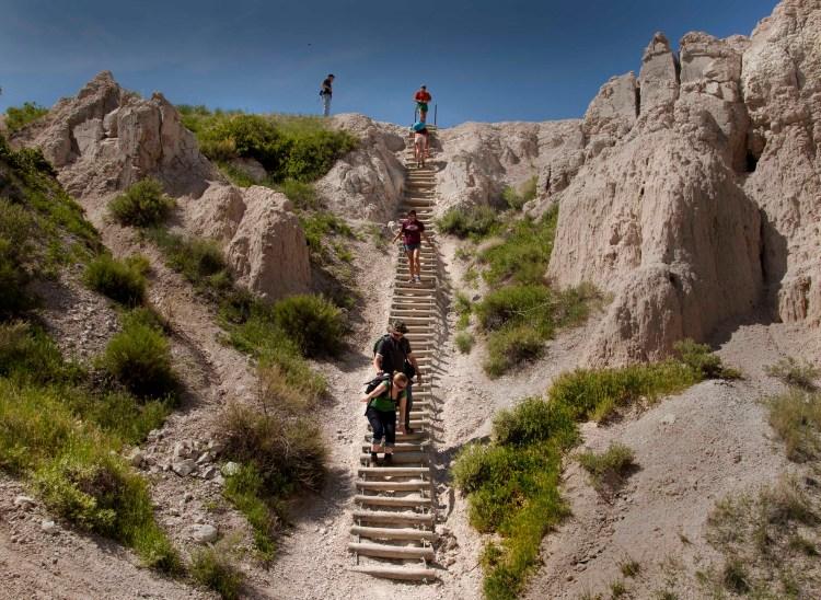 Notch Trail ladder