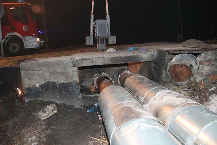 dwie ofiary śmiertelne pożaru w brzeszczach
