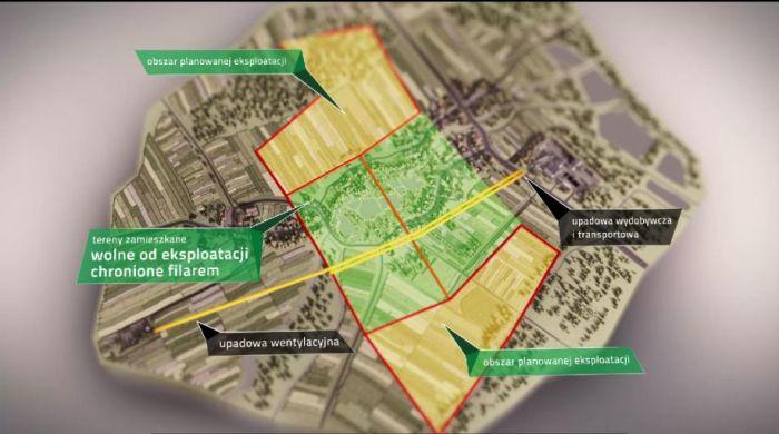 kopalnia w przeciszowie mapa ochrony powierzchni