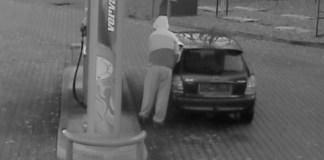 złodziej paliwa w zatorze