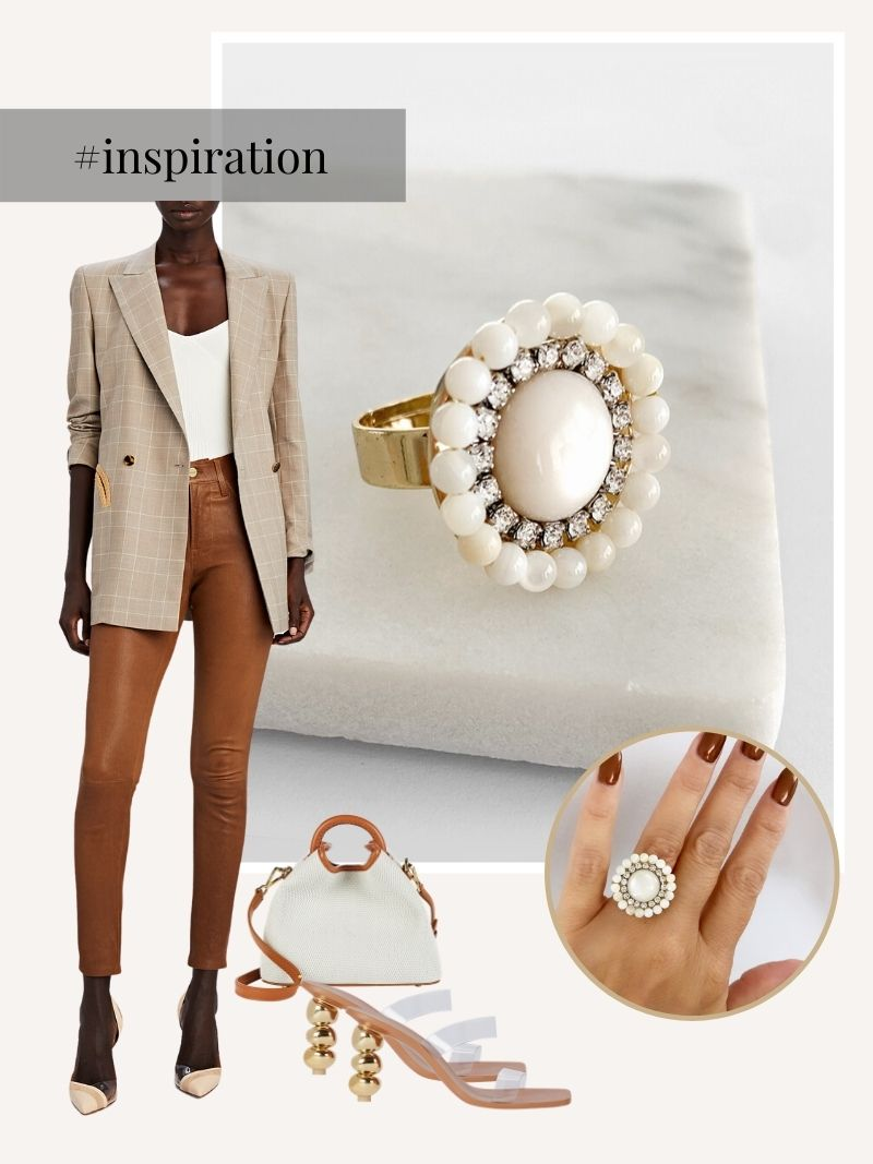 Caya statement ring