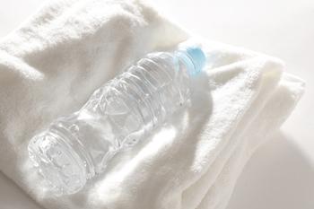 水分補給の水