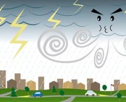 台風で頭痛や吐き気