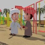 render chars3 - Al Dhaid Cricket Village
