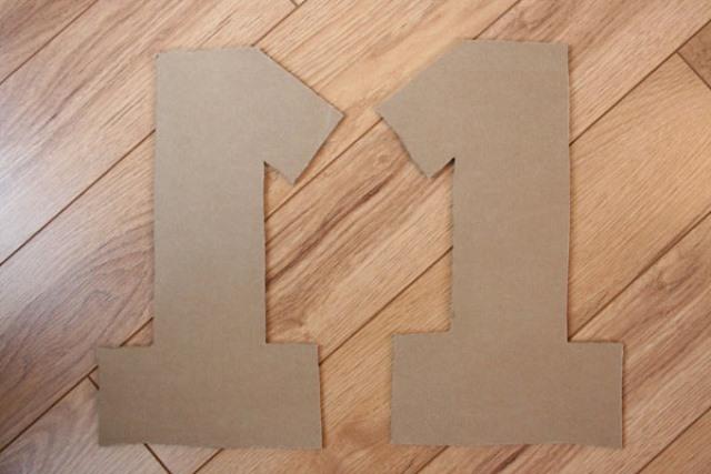 Dígito 1 de cartón