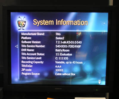 TiVo 7-2-1